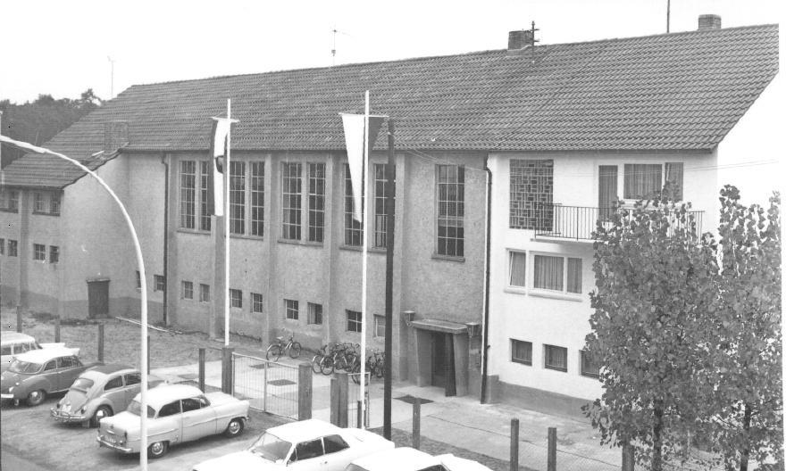 Die Vereinshalle 1967